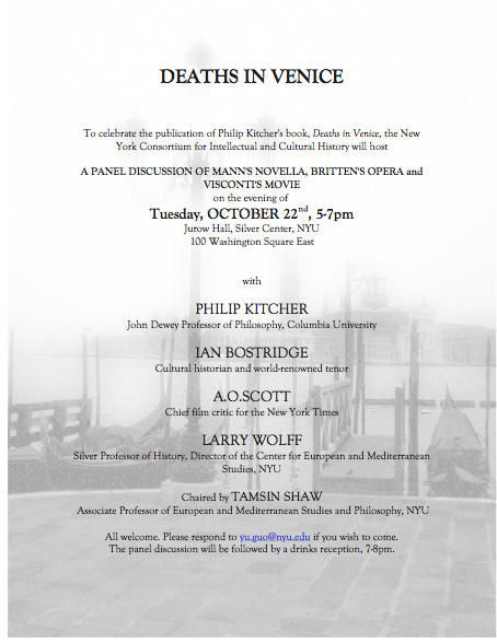 Deaths In Venice